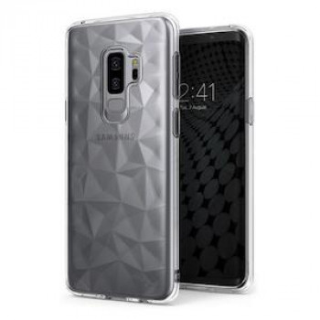 Оригинальный чехол Ringke Air Prism 3D Cover Gel на Samsung Galaxy S9 Plus G965 transparent (APSG0021-RPKG)