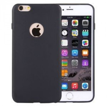 TPU Чехол Solid Color Black для iPhone 6/ 6S