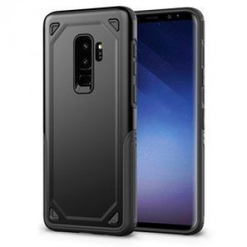Противоударный чехол на Samsung Galaxy S9+ /G965 Shockproof Rugged Armor (Black)