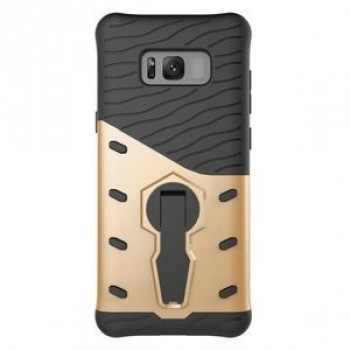 Противоударный Чехол 360 Degree Spin Tough Armor на Samsung Galaxy S8 + / G9550(Gold)
