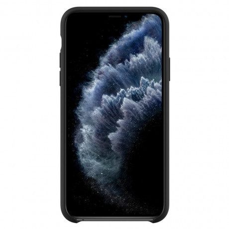 Оригинальный чехол Spigen Silicone Fit IPhone 11 Pro Black