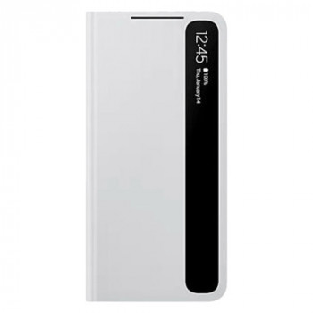 Оригинальный чехол-книжка Samsung Clear View Standing Cover для Samsung Galaxy S21 grey