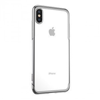 Чехол Baseus Shining case на iPhone Xs Max серебристый