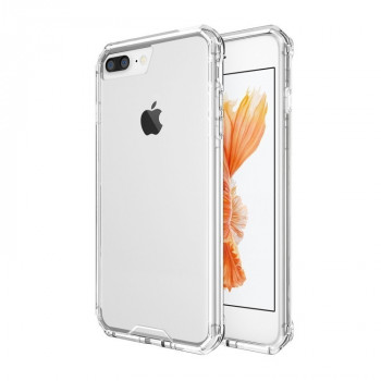 Прозрачный  чехол на iPhone 8 Plus / 7 Plus   Shockproof Acrylic + TPU Transparent Armor Protective Case