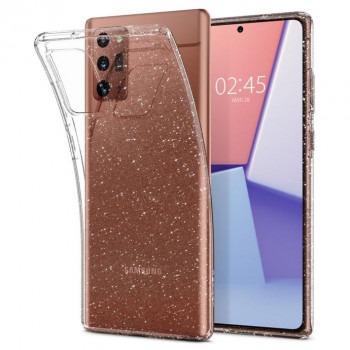 Оригинальный чехол Spigen Liquid Crystal для Samsung Galaxy Note 20 Glitter Crystal