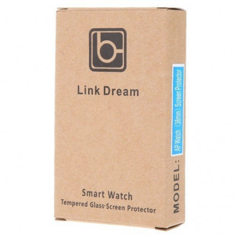 Защитное 3D стекло на Весь экран Link Dream 0.2mm 9H для Apple Watch 38mm