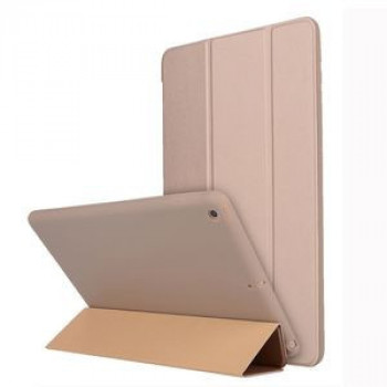 Чехол-книжка HMC Three-folding Holder на iPad 10.2-золотой