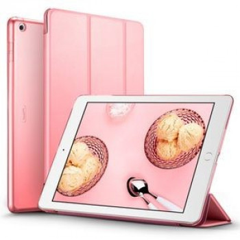 Чехол ESR Yippee Color Trifold Magnetic Smart Case на iPad 9.7 2018/2017-розовый