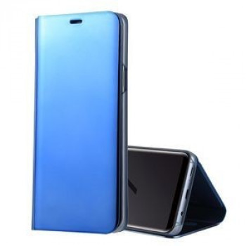 Чехол- книжка Samsung Clear View Standing Cover OEM на Samsung Galaxy S9/G960 PU Electroplating Mirror синий