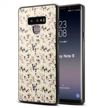Чехол Blue Flower Pattern на Samsung Galaxy Note 9