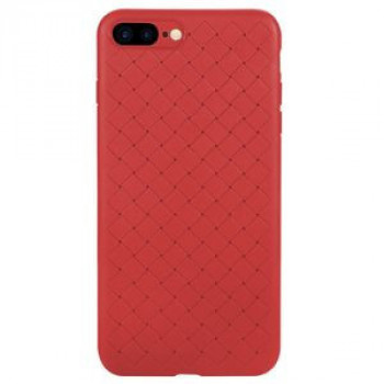 Ультратонкий чехол Benks Knitting Leather Surface Protective на iPhone 8 Plus/ 7 Plus- красный