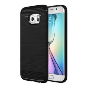 Противоударный Чехол Rugged Armor Fiber Black для Samsung Galaxy S6 Edge / G925
