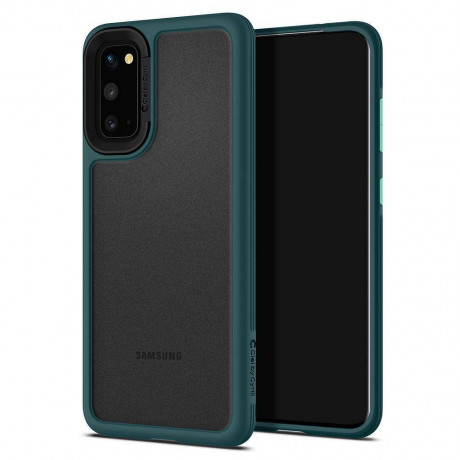 Оригинальный чехол Spigen Ciel Color Brick на Galaxy S20 Forest Green