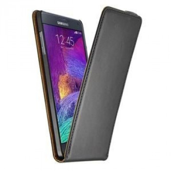 Кожаный Чехол Vertical Flip для Samsung Galaxy Note 4