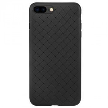 Ультратонкий чехол Benks Knitting Leather Surface Protective на iPhone 8 Plus/ 7 Plus- черный