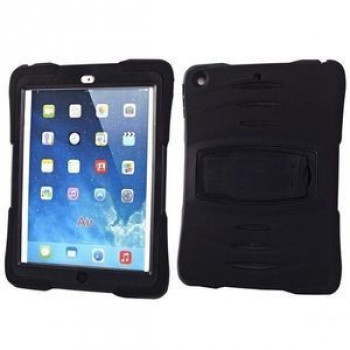 Противоударный Чехол 3 In 1 Powerful Shock-proof Detachable Black для iPad Air
