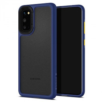 Оригинальный чехол Spigen Ciel Color Brick на Samsung Galaxy S20 Navy