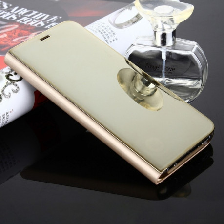 Чехол- книжка Samsung Clear View Standing Cover OEM на Samsung Galaxy S8/G950 Electroplating Mirror(Gold)