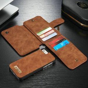 кожаный чехол кошелек СaseMe для айфон 5с