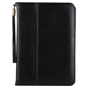 Черный кожаный чехол для iPad 2018/2017 9.7