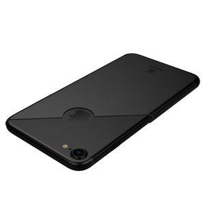Фото - ультратонкий черный чехол на айфон 8
