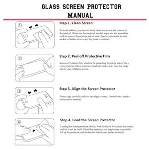 Схема - как наклеить защитное стекло на айфон 7?