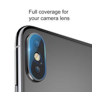 Защитное стекло на камеру Baseus 0.2mm на iPhone XS Max