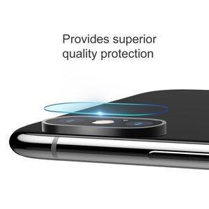 Защитное стекло на камеру базеус 0.2мм на айфон Х макс