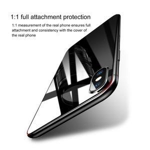 Двустороннее стекло базеус на айфон Х макс прозрачное