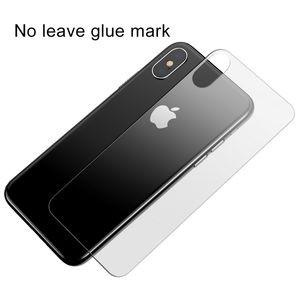 Защитное стекло на заднюю панель Baseus на iPhone XS Max прозрачное