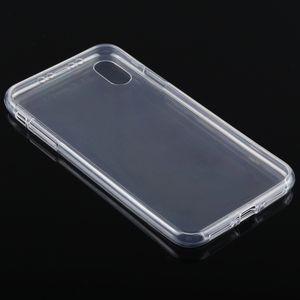 Двусторонний ультратонкий чехол  на айфон Х Макс