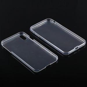 Двусторонний ультратонкий чехол Double-sided Full Coverage Case на iPhone XS Max прозрачный