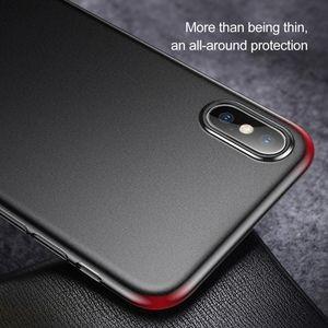 Чехол Baseus WingUltra-Thin Frosted PP Case на iPhone Xs Max черный