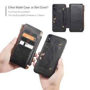 Кожаный чехол- кошелек кейсми на айфон Х макс
