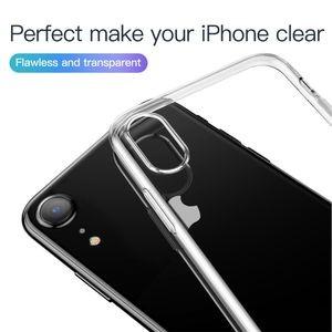 Чехол Baseus Simple Series на iPhone XR прозрачный