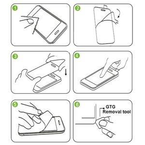 Схема - Как наклеить защитное стекло на экран айпад 2017