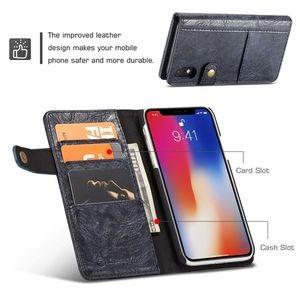 Кожаный чехол-книжка кейсми на айфон Хр черный