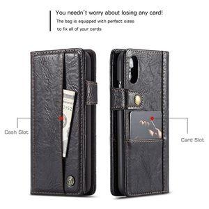 Кожаный чехол-книжка CaseMe 010 Series Wallet Style со встроенным магнитом iPhone XR