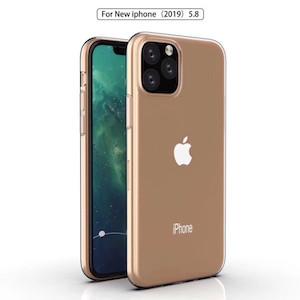 Ультратонкий силиконовый чехол  на iPhone 11 Pro- прозрачный