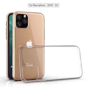 Ультратонкий силиконовый чехол  для айфон 11 про- прозрачный