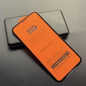 11D защитное стекло HD Full Glue Full Curved Screen Tempered Glass на iPhone 11/XR-черное
