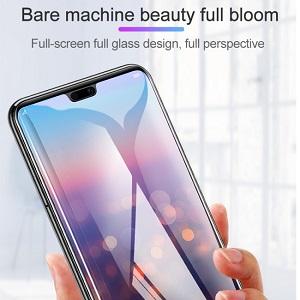 11D защитное стекло HD Full Glue Full Curved Screen Tempered Glass для Айфон 11/XR-черное
