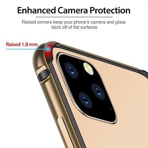 Бампер ESR Edge Guard Aluminum Alloy для Айфон 11 Pro Max- золотой