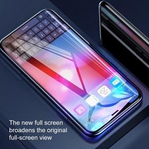 3D защитное стекло Baseus на айфон XS Max черное