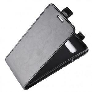 Кожаный флип-чехол Business Style с магнитными застежками на Samsung Galaxy S10/G973- черный