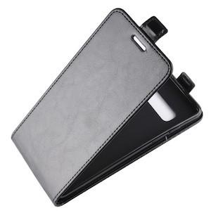Черный флип-чехол для Samsung S10+