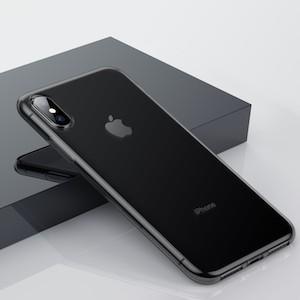 темный чехол Baseus Simplicity на iPhone Xs Max