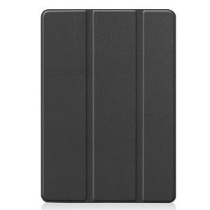Чехол Custer Texture Three-folding Sleep/Wake-up на iPad 7 10.2 (2019) Черный