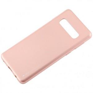 Чехол MERCURY GOOSPERY I JELLY на Samsung Galaxy S10-розовое золото