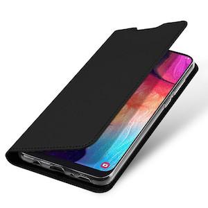 черный чехол Dux Ducis Iskin на Samsung A50
